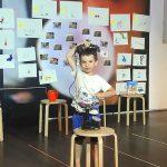 """Atelier TatiTrafic dans le cadre du projet """"Rêvons au Théâtre"""" au Théâtre National de Marseille La Criée"""