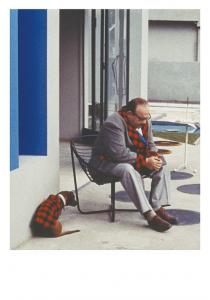 Carte postale inspirée par Mon Oncle de Jacques Tati © Tati Trafic 2020