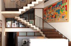Le grand escalier © Julie Coulon