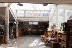 L'atelier de Macha Makeïeff © Julie Coulon